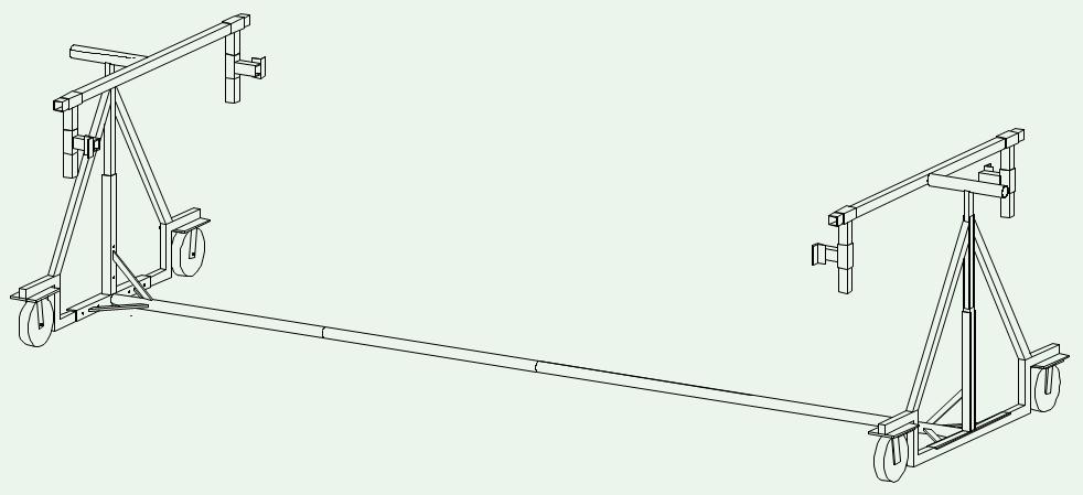 Grafik des Auto Drehgestells